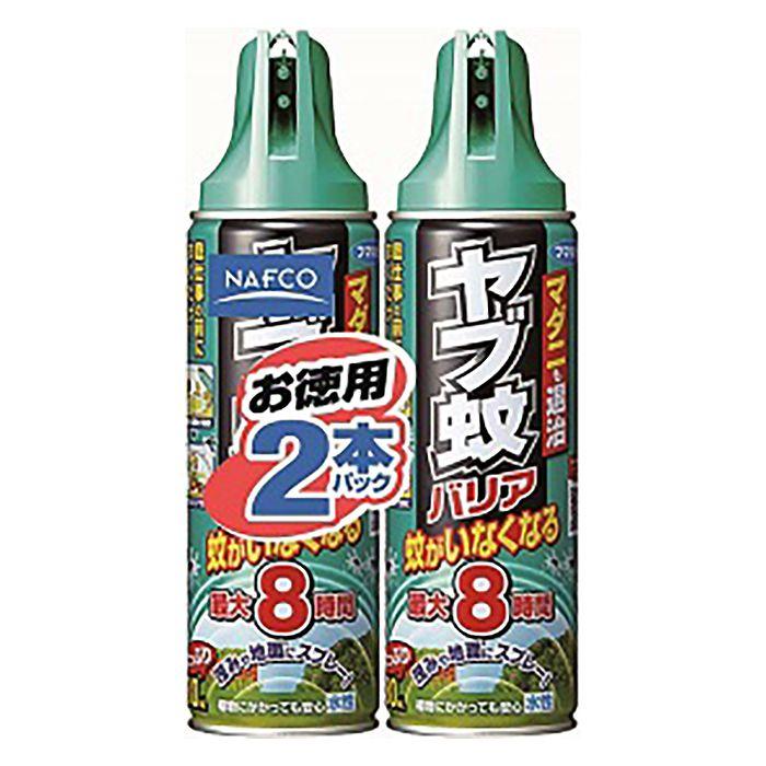 【殺虫剤特集】フマキラー ヤブ蚊バリア 480ml×2P