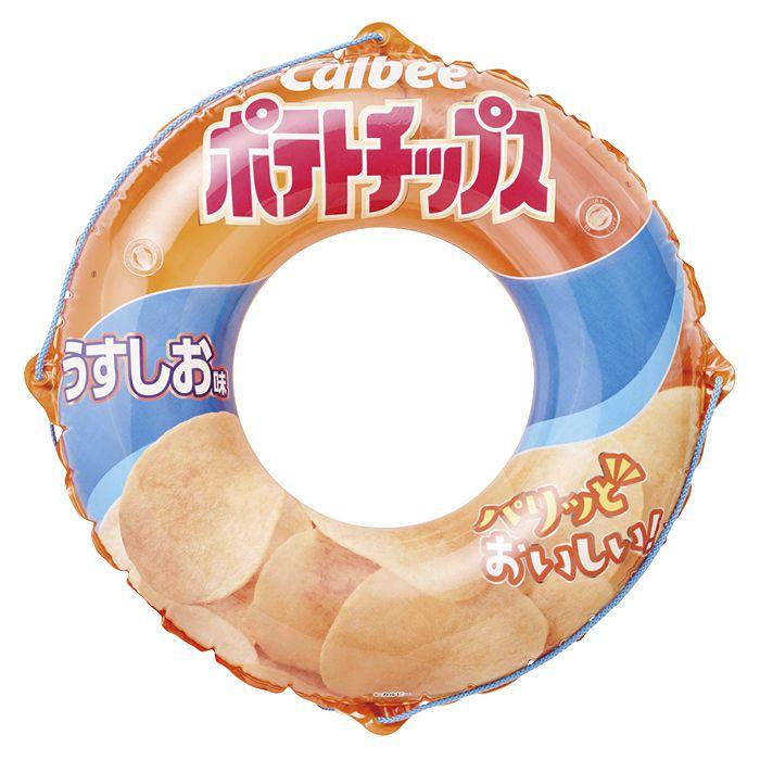 【海水浴用品特集】うきわ90cm ポテトチップス PM19-DS90