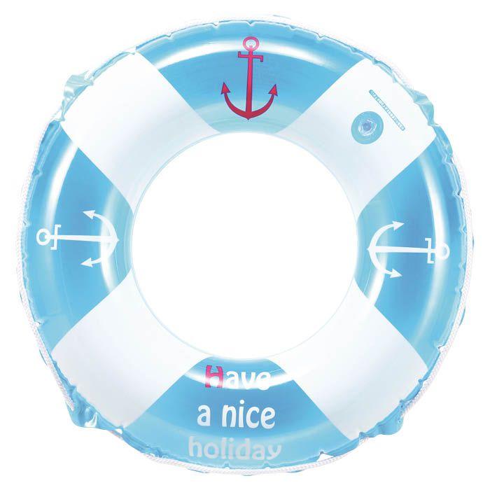 【海水浴用品特集】うきわ60cm ブルーマリン