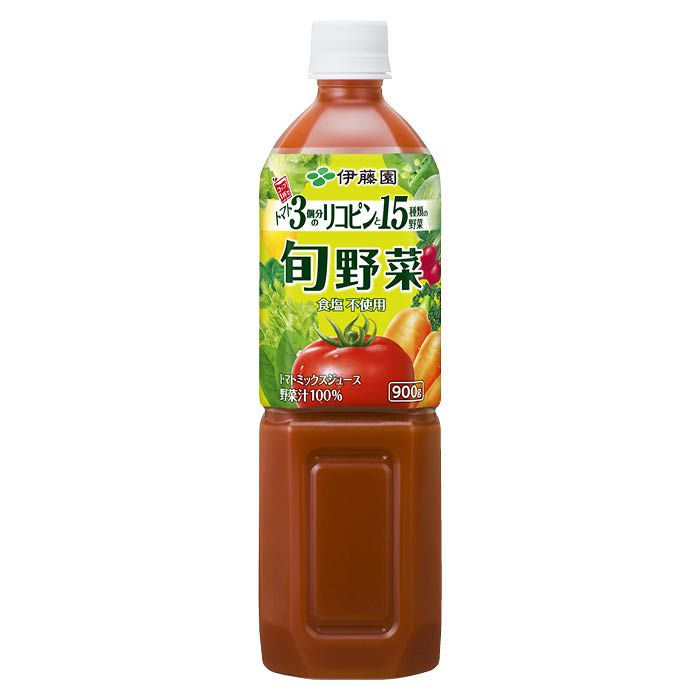 伊藤園 旬野菜 900g×12本 ケース