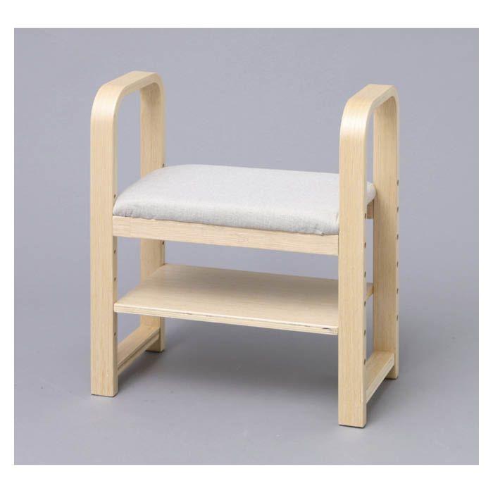 玄関用介護椅子 GC-55 ナチュラル