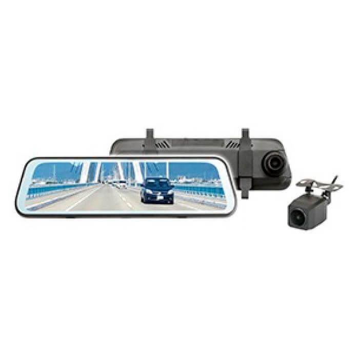 デジタルインナーミラー 前後同時録画 リアカメラ付