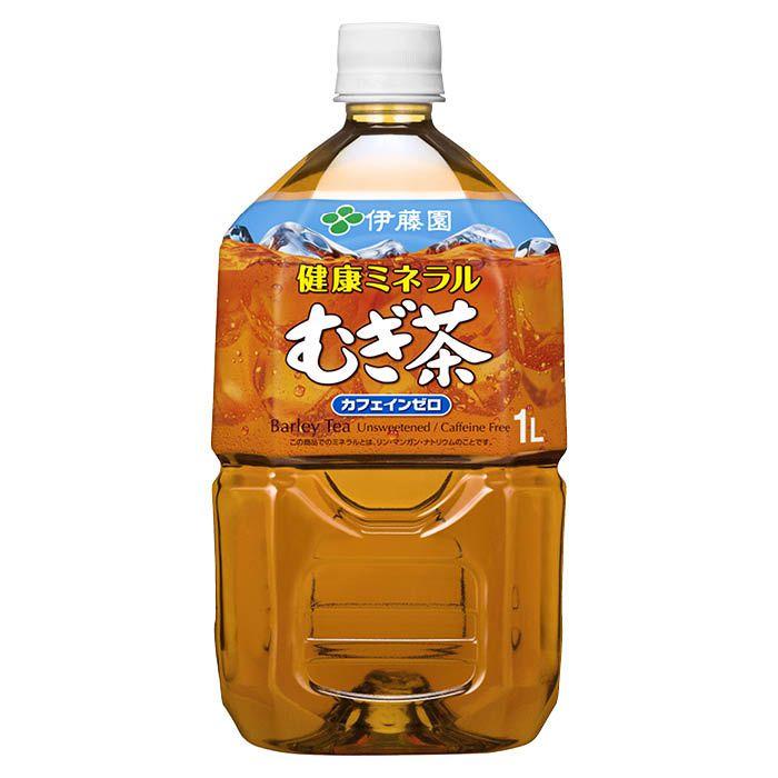 伊藤園 健康ミネラルむぎ茶 1L×12本 ケース