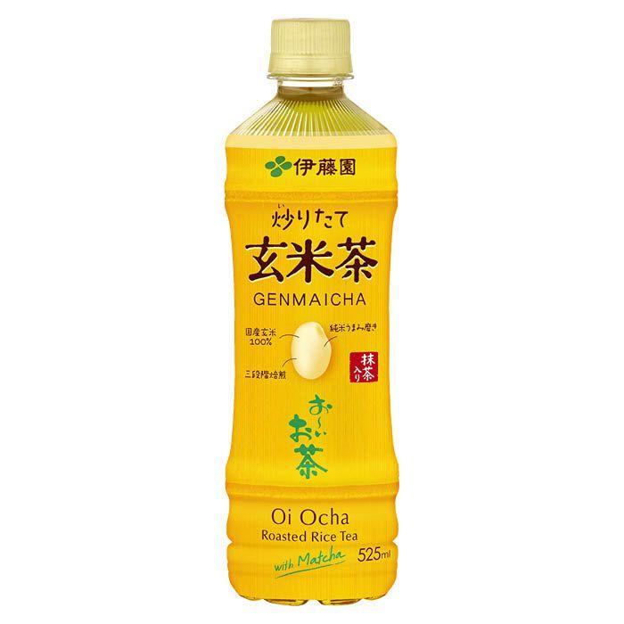 伊藤園 おーいお茶 炒りたて玄米茶 525ml×24本 ケース
