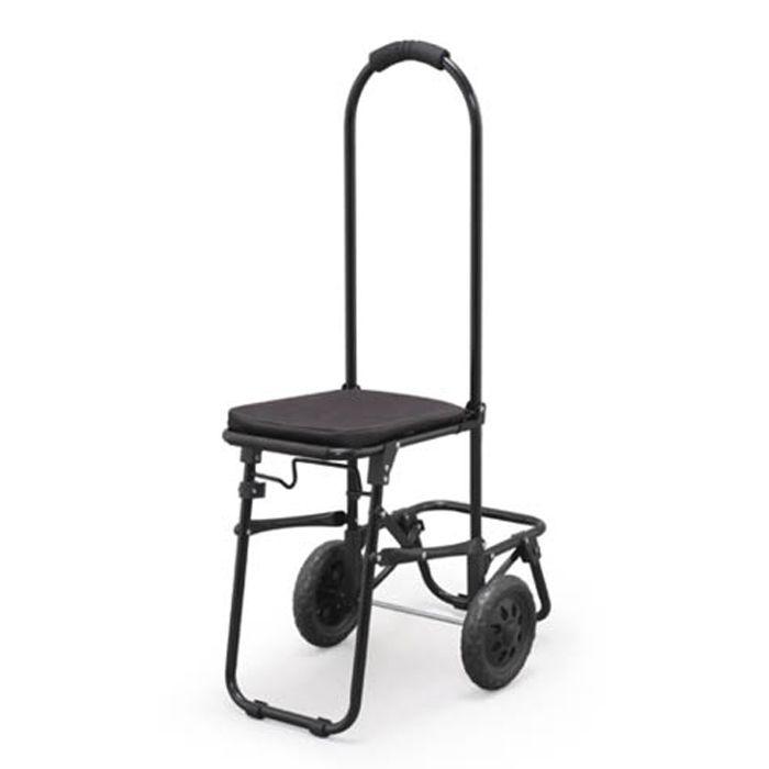 ショッピングキャリー用フレーム 椅子付 SHPC-FC ブラック