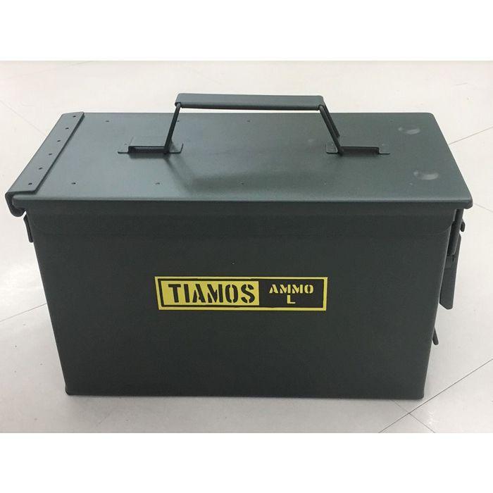 Nスチール工具箱 大 AMMO BOX L