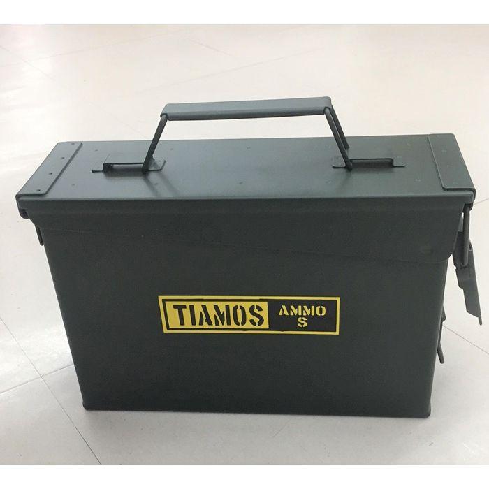 Nスチール工具箱 小 AMMO BOX S