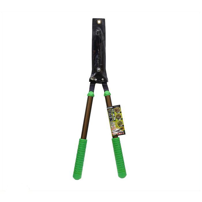 トップマイティ芝生兼用刈込鋏 アルミ柄
