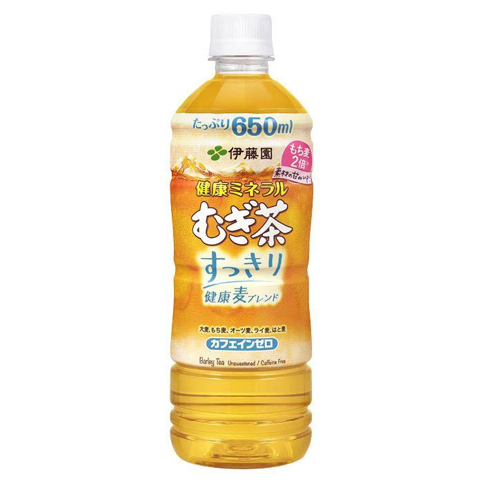 伊藤園 健康ミネラルむぎ茶 すっきり健康麦ブレンド 650ml×24本 ケース