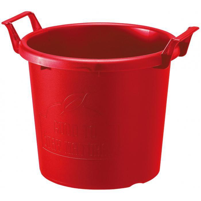 グロウコンテナ 35型 赤