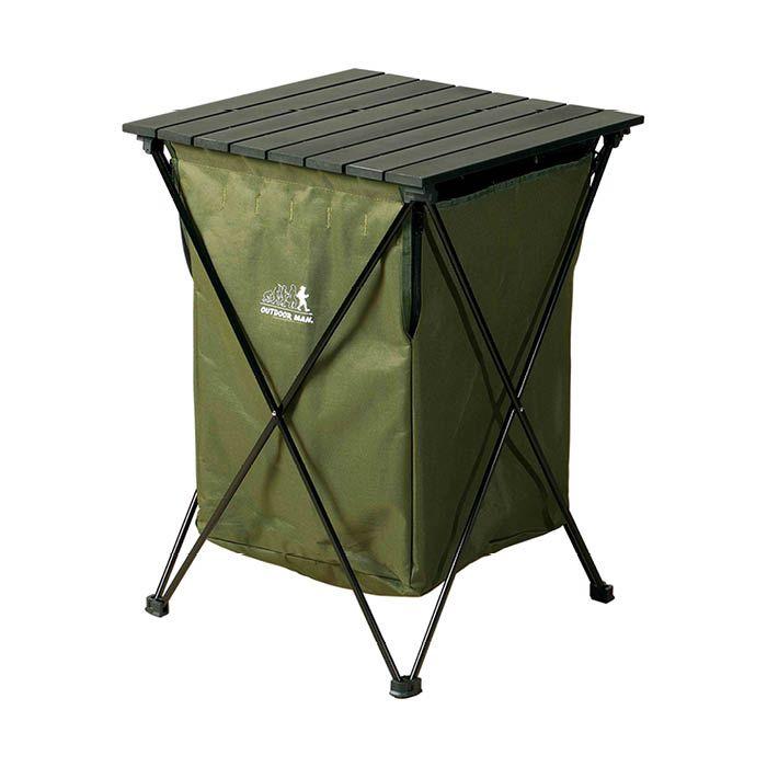 ライソン アルミテーブル付ダストボックス KOGR-004G