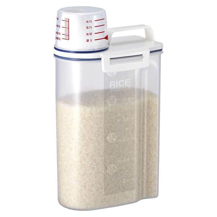 密閉米びつ 2kg パッキン付き