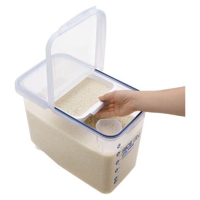 密閉米びつ 12kg パッキン付き
