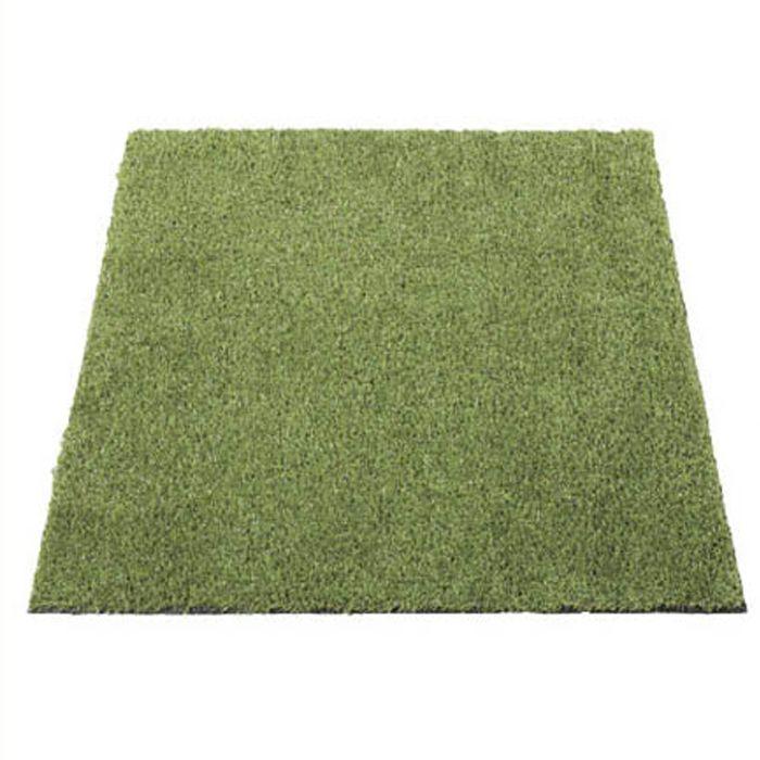 丈夫で長持ちする強力リアル人工芝 1m×1m 20ミリ