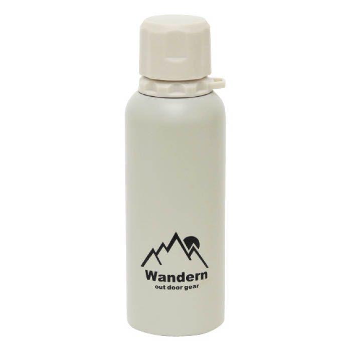 ワンデルン ステンレスボトル 400ml ベージュ