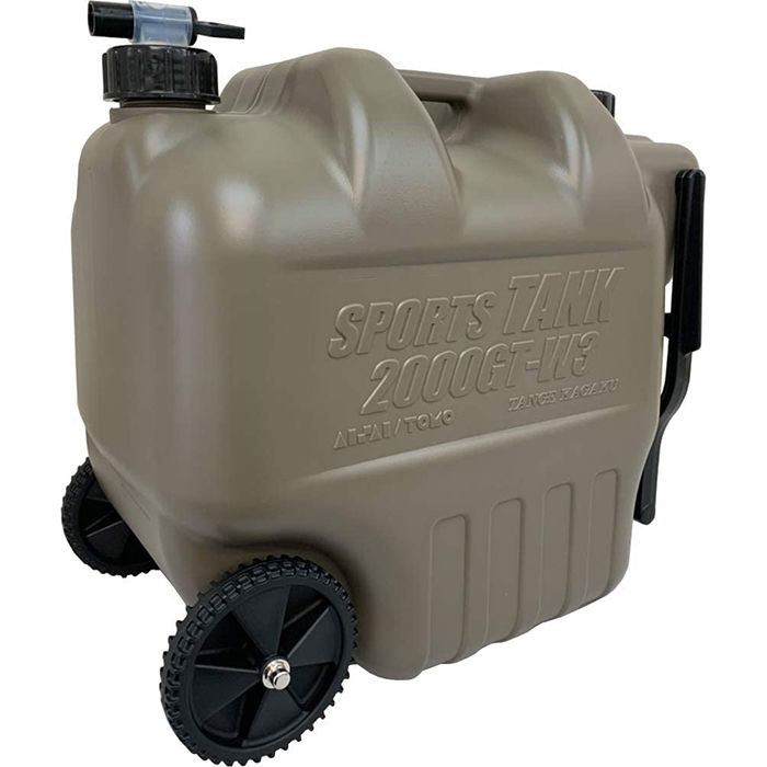 タンゲ 水缶専用器 ミリタリーホイールタンク20L