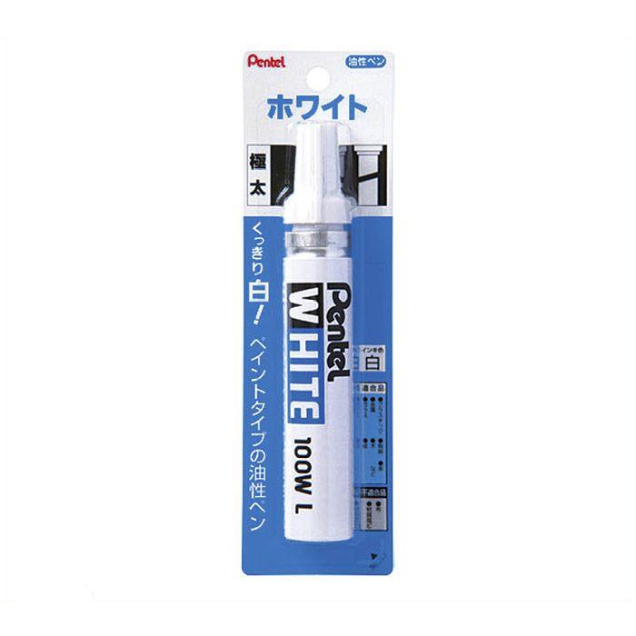 ぺんてる ホワイトペン 極太 X100W-LD