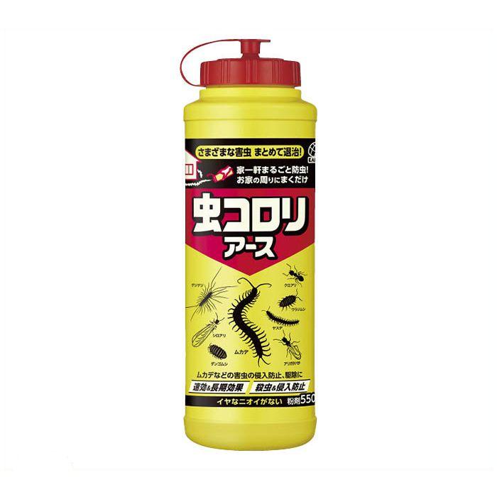 【殺虫剤特集】 アース 虫コロリ粉剤 550g