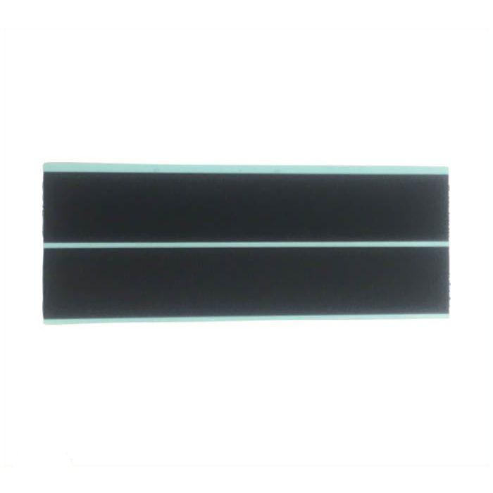 ユタカメイク マジックテープ 25mm×15cm ブラック