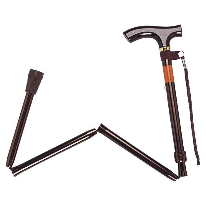 幸和製作所 折りたたみ式杖 E248-BR ブラウン