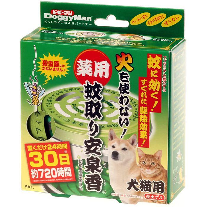 ドギーマン 薬用蚊取り安泉香 1P