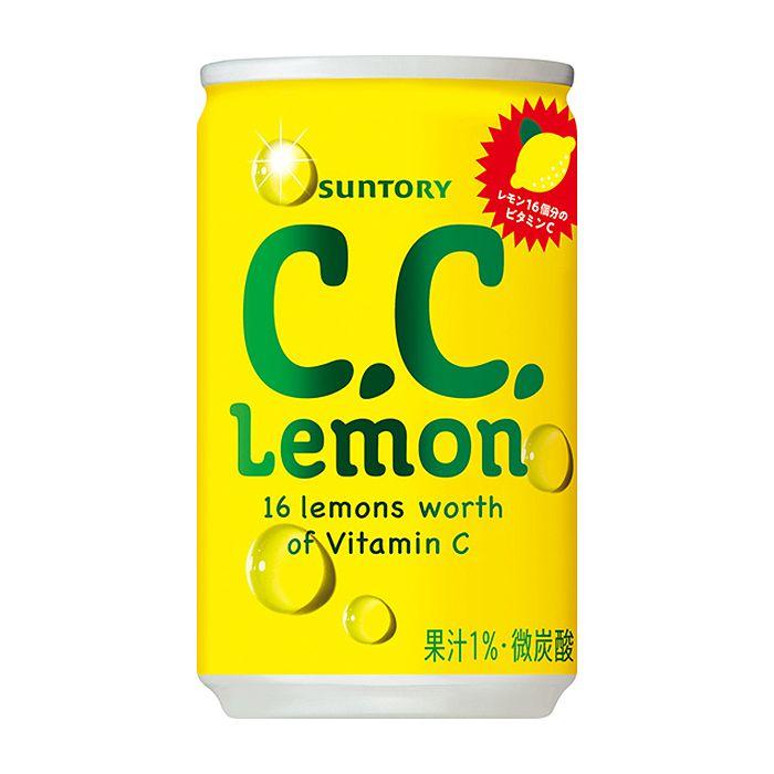 サントリーフーズ C.C.レモン 160ml×30缶 ケース