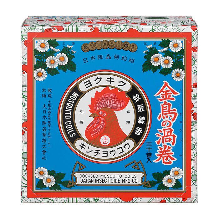 【殺虫剤特集】 金鳥 金鳥香 30巻紙箱