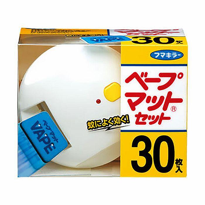 【殺虫剤特集】 フマキラー ベープマットセット 30枚