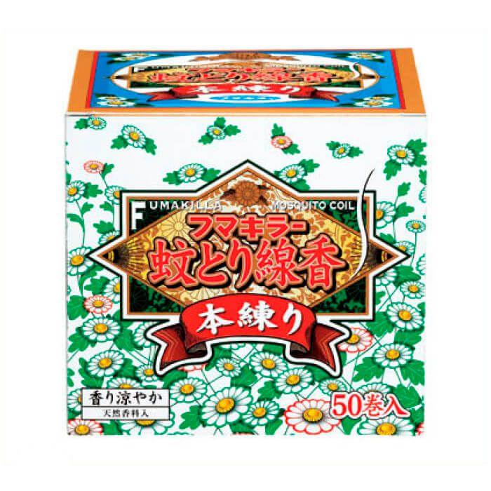 【殺虫剤特集】 フマキラー フマキラー蚊取線香 本練50巻函