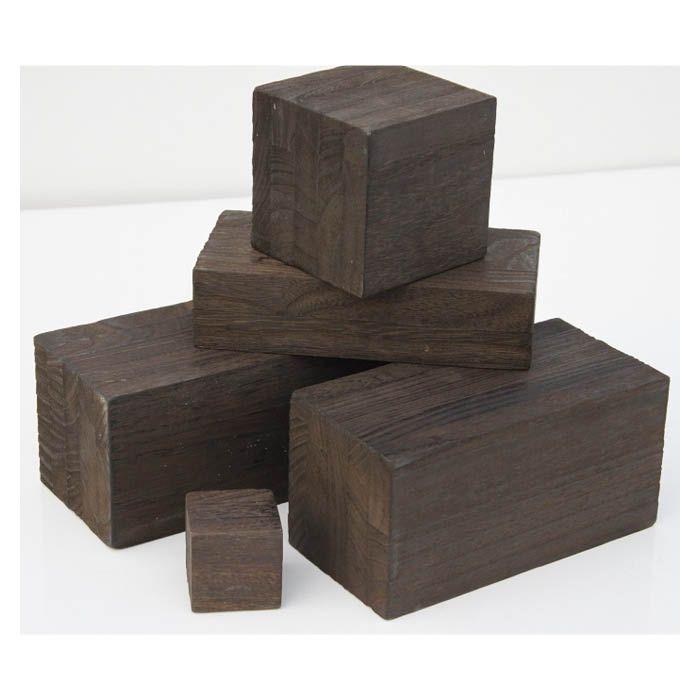 焼桐ブロック(穴なし) 約200×100×100