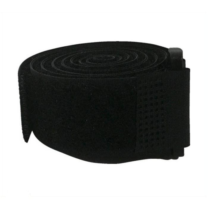 ユタカメイク マジックテープ マジックストラップ強力結束 25mm130cm ブラック