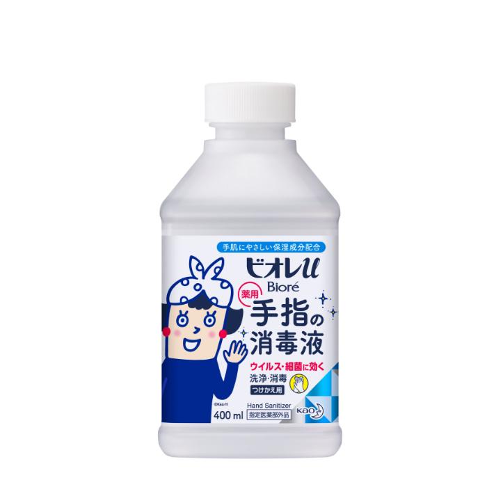 花王 ビオレu手指の消毒液 置き型付替 400ml