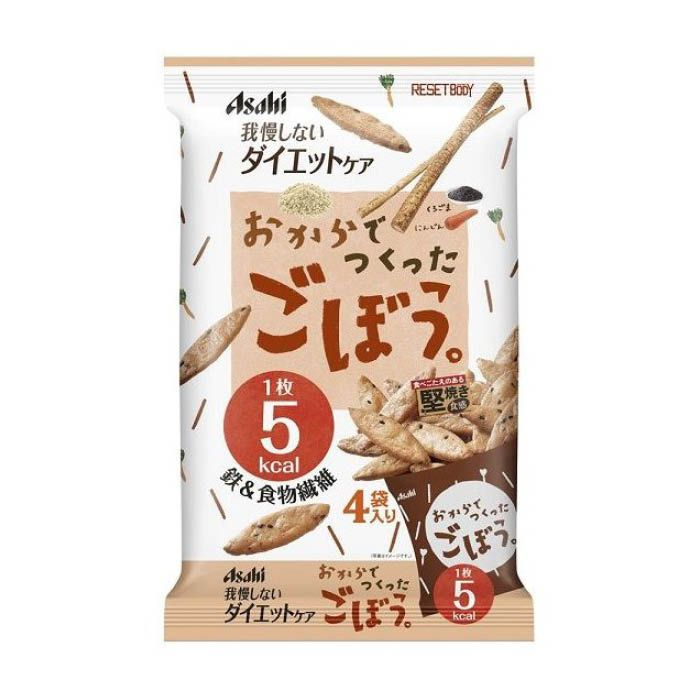 アサヒグループ食品 リセットボディごぼう 22g×4包