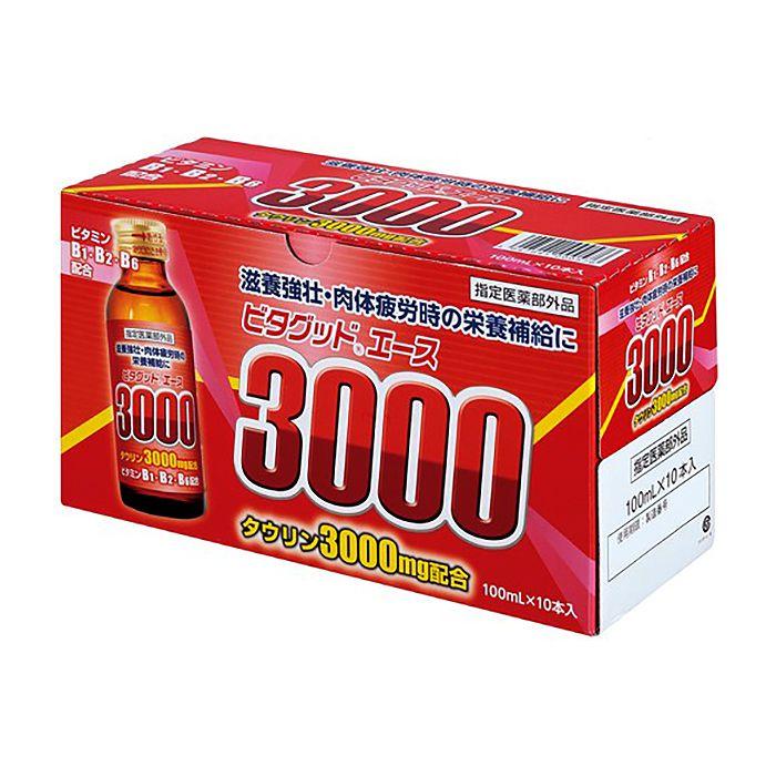 新日配薬品 N ビタグッドエース3000 100ml×10本パック