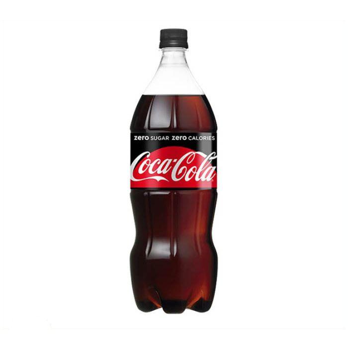 日本コカ・コーラ コカ・コーラ ゼロ 1.5L×8本 ケース