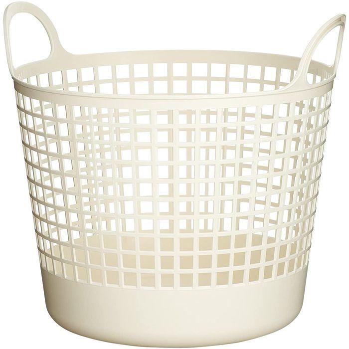 ラウンドバスケット SCB-1ホワイト