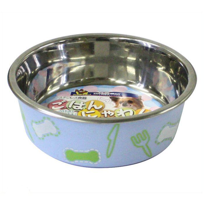 ドギーマン ステンレス製食器ごはんにゃわん 犬用MINI