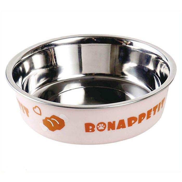 ドギーマン ステンレス製食器ごはんにゃわん 犬用S
