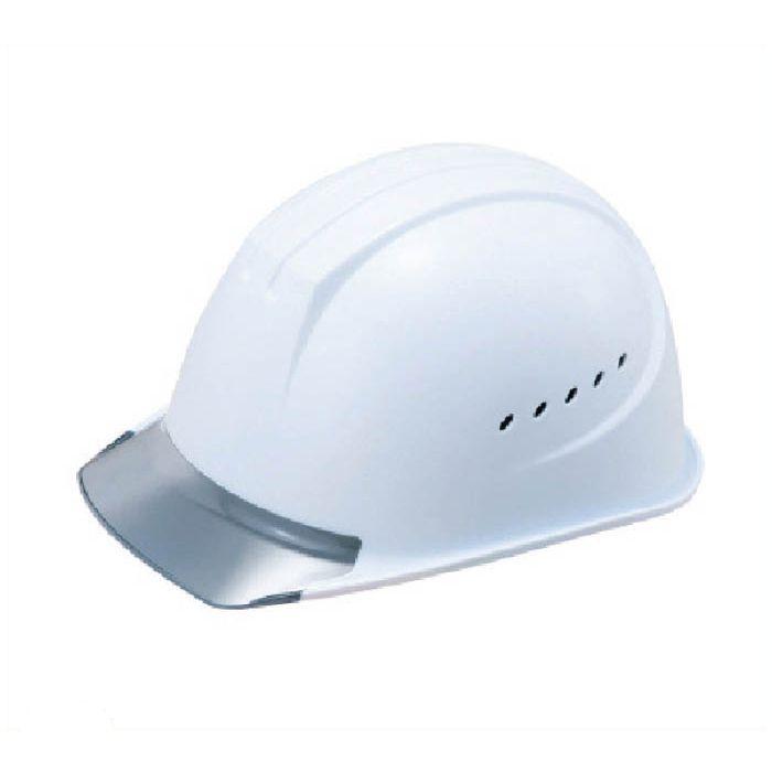 タニザワ エアライト搭載ヘルメット通気孔付き(PC製・透明ひさし型)