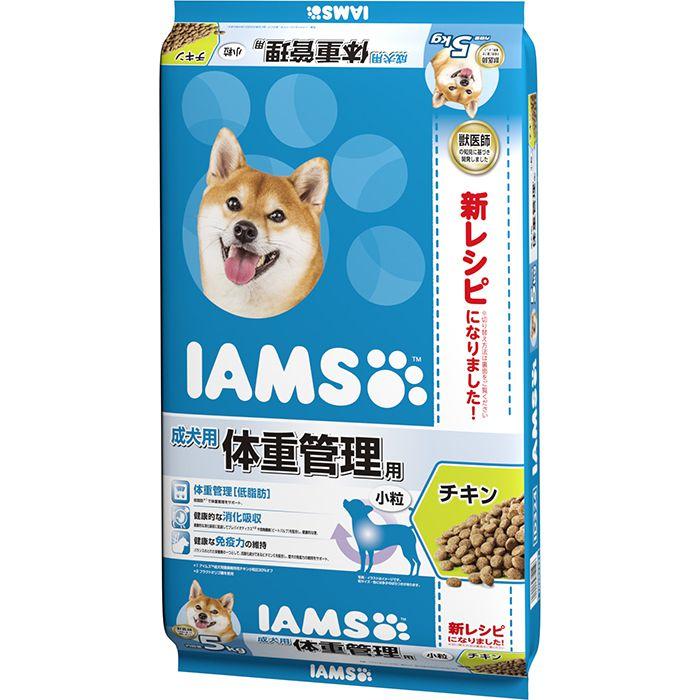 アイムス 成犬用 体重管理用 チキン小粒・5kg