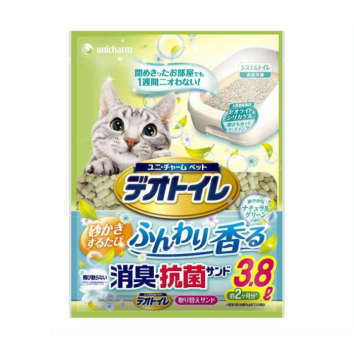 ユニ・チャーム デオトイレ 香る消臭 抗菌サンド 3.8L