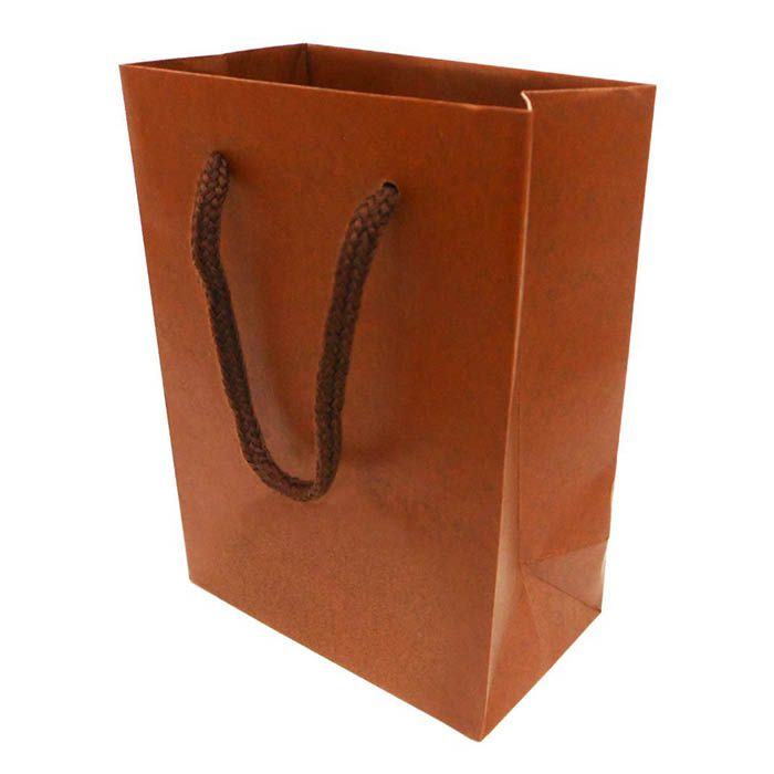 Paper Bag SS 茶 CCRA-SS-BR