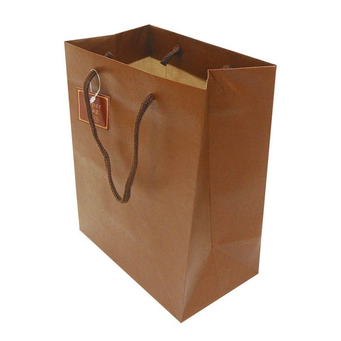 Paper Bag MS 茶 CCRA-MS-BR