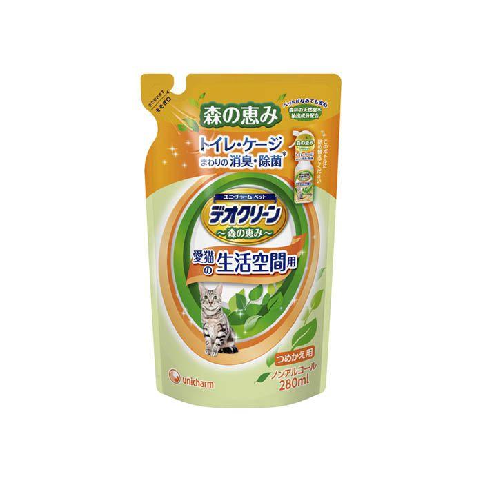 ユニ・チャーム デオC消臭スプレー 猫用詰替 280ml