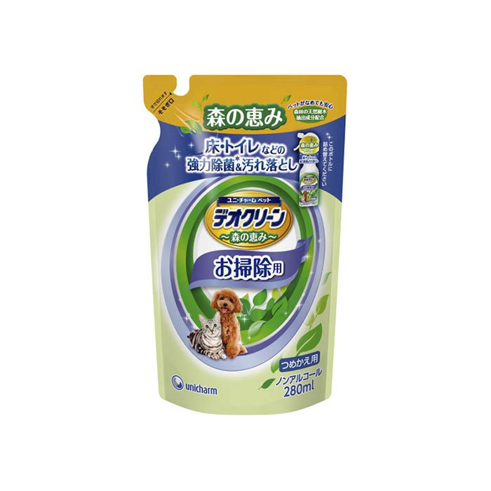 ユニ・チャーム デオC除菌お掃除スプレー詰替 280ml
