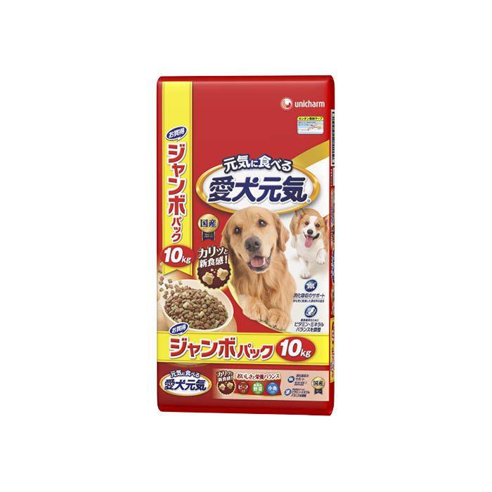 ユニ・チャーム 愛犬元気 ビーフ・野菜・小魚 10kg