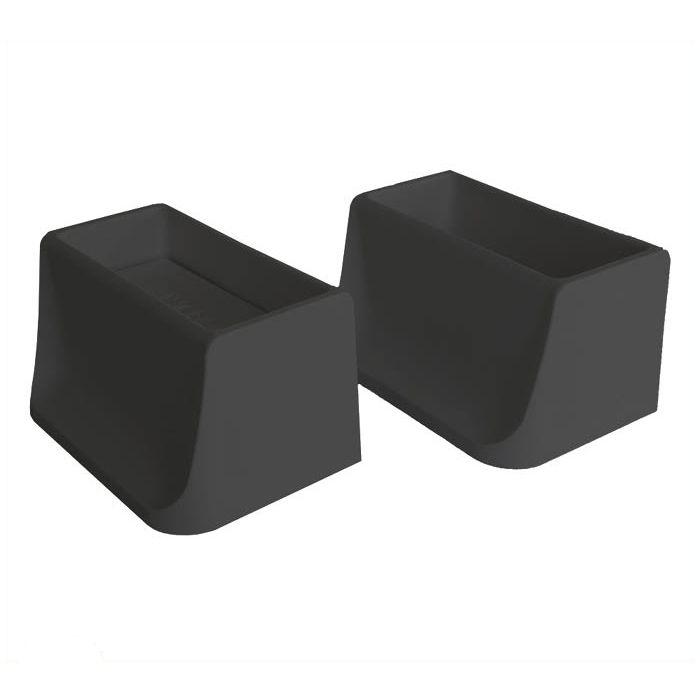 若井産業 ディアウォール 2×4用上下パットセット ブラック