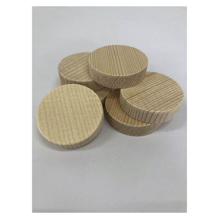 B16 白木円形材 約10×40φ
