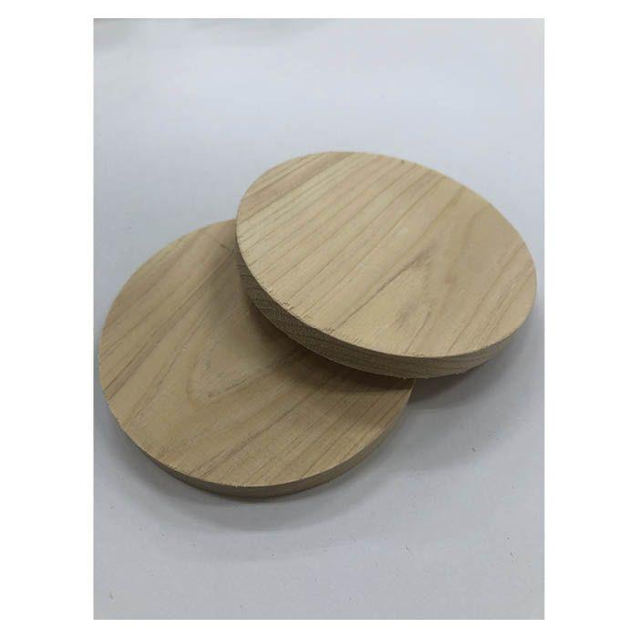 B19 白木円形材 約10mm×100φ