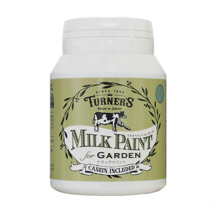 ターナー色彩 ミルクペイントforガーデン 200mlナチュラルミント